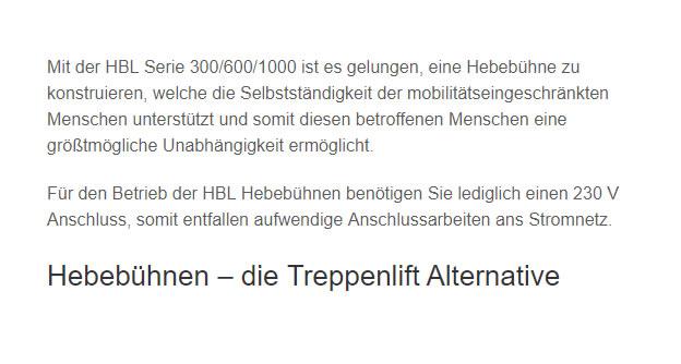 Senkrechtlifte für 91052 Erlangen